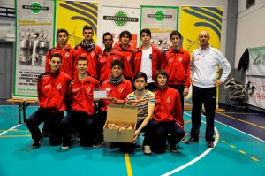 Volley Montanaro 4^ Classificata Provinciale U17M 2012/2013PMT