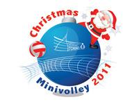 Logo Natale Minivolley  200x150
