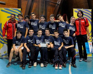 Sporting Parella 4° Classificato U14M 2012/2013